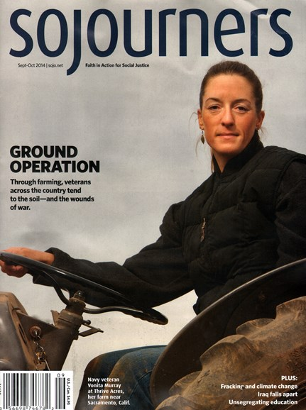 Sojourners Cover - 9/1/2014