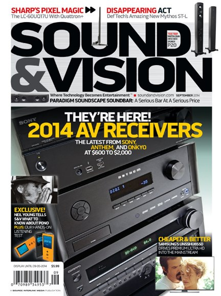 Sound & Vision Cover - 9/1/2014