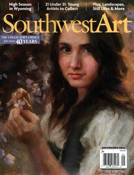 Southwest Art Cover - 9/1/2014