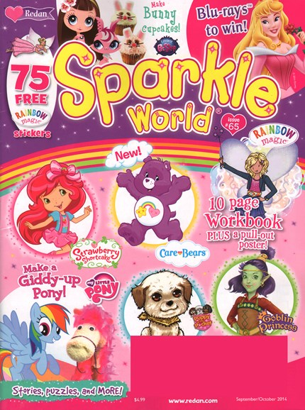 Sparkle World Cover - 9/1/2014