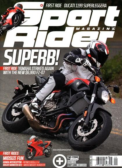 Sport Rider Cover - 9/1/2014