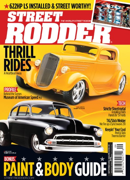 Street Rodder Cover - 9/1/2014