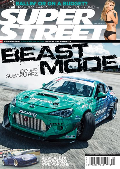 Super Street Cover - 9/1/2014