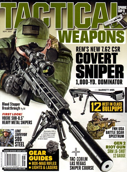 Tactical Life Cover - 9/1/2014
