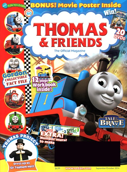 Thomas & Friends Cover - 9/1/2014