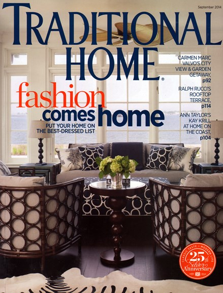 Traditional Home Cover - 9/1/2014