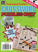 Herald Tribune Crossword Puzzles Magazine 11/1/2014