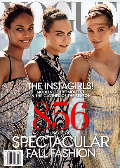 Vogue Cover - 9/1/2014