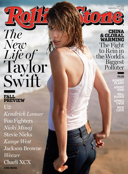 Rolling Stone Cover - 9/25/2014