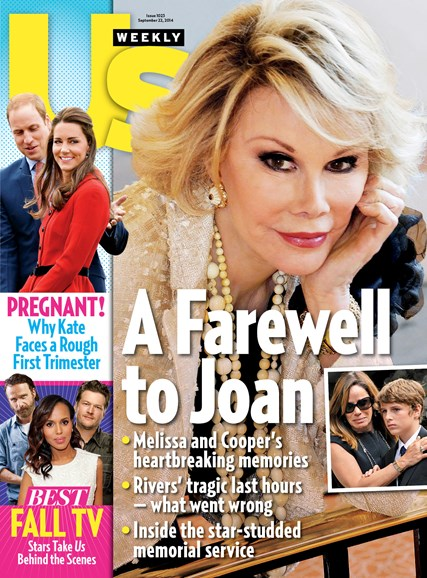 Us Weekly Cover - 9/22/2014