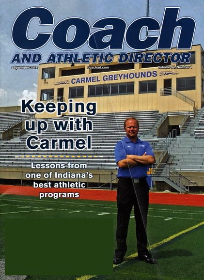 Coach & Athletic Director Cover - 9/1/2014