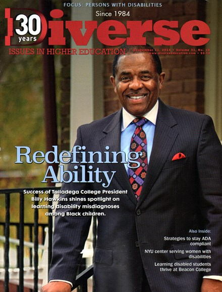 Diverse: Issues In Higher Education Cover - 9/11/2014