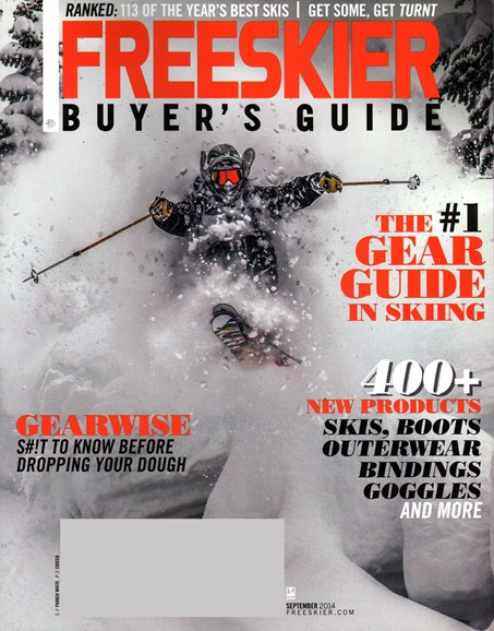 Freeskier Cover - 9/1/2014