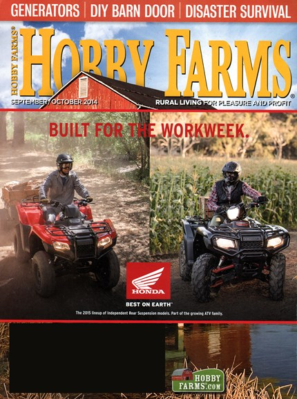 Hobby Farms Cover - 9/1/2014