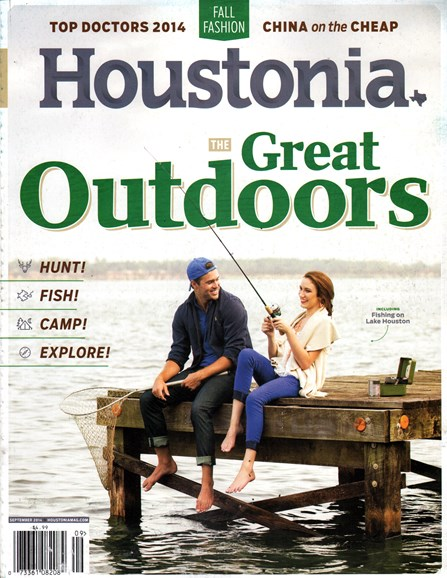 Houstonia Cover - 9/1/2014