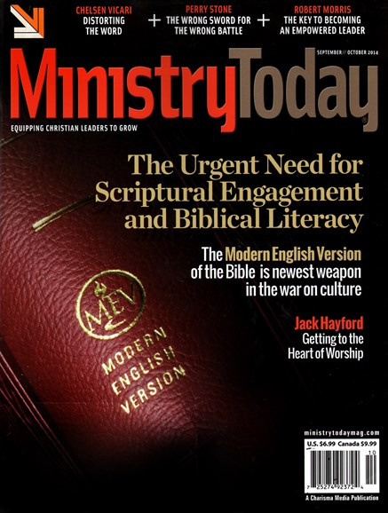 Ministry Today Cover - 9/1/2014