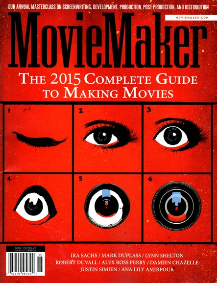 Moviemaker Magazine Cover - 9/1/2014