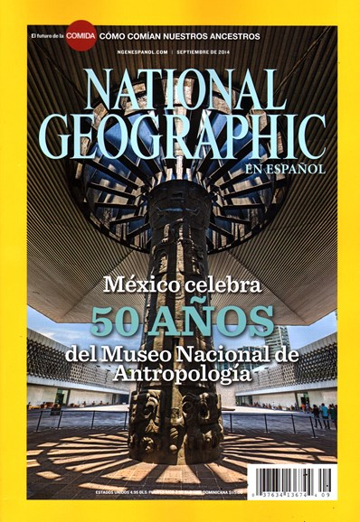 National Geographic En Español Cover - 9/1/2014