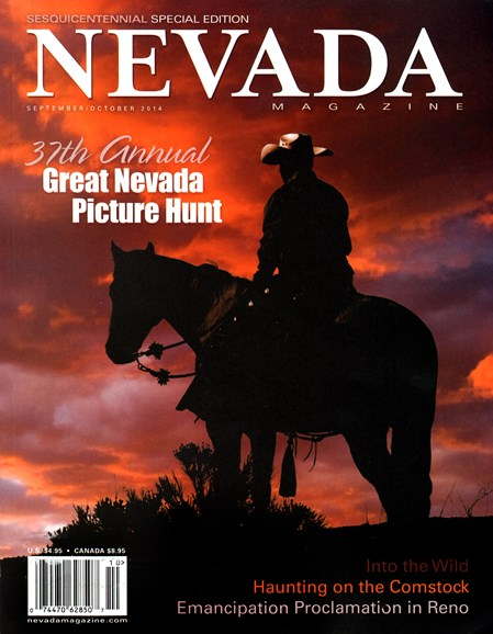 Nevada Magazine Cover - 9/1/2014