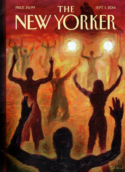 The New Yorker Cover - 9/1/2014