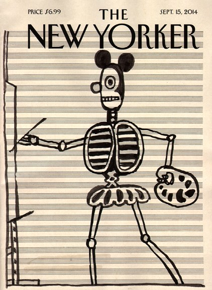 The New Yorker Cover - 9/15/2014