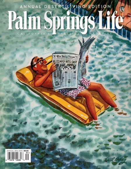 Palm Springs Life Cover - 9/1/2014