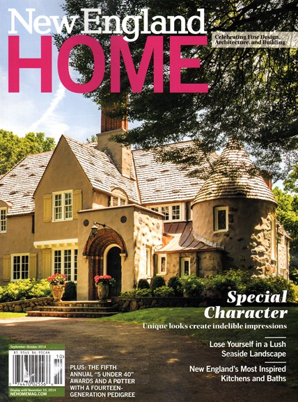 New England Home Cover - 9/1/2014