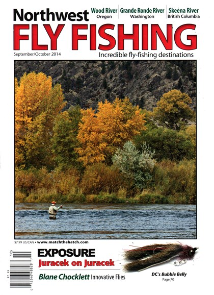 Northwest Fly Fishing Cover - 9/1/2014