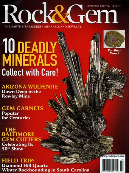 Rock & Gem Cover - 9/1/2014