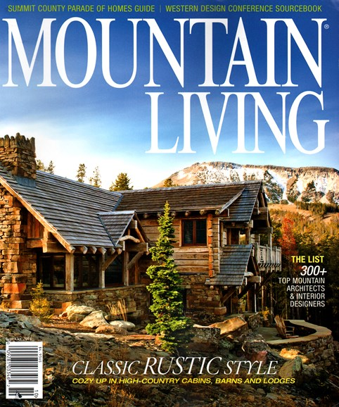 Mountain Living Cover - 9/1/2014