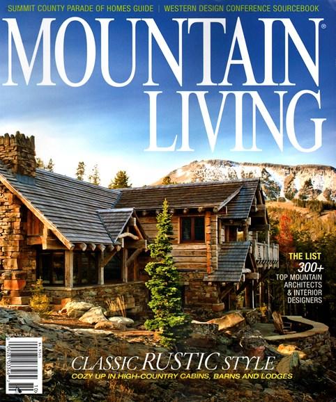Mountain Living Cover - 9/1/2014