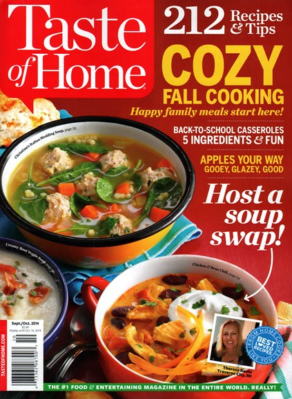 Taste of Home Cover - 9/1/2014
