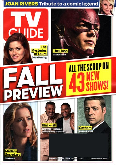TV Guide Cover - 9/15/2014