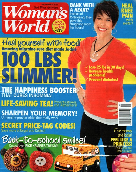 Woman's World Cover - 9/8/2014