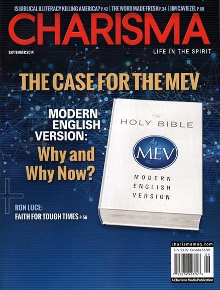 Charisma Cover - 9/1/2014