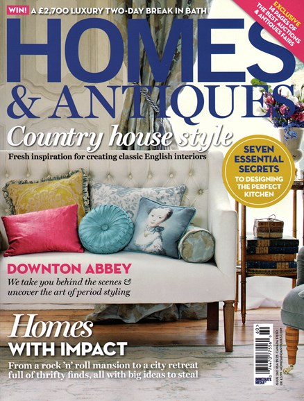 Homes & Antiques Cover - 9/1/2014