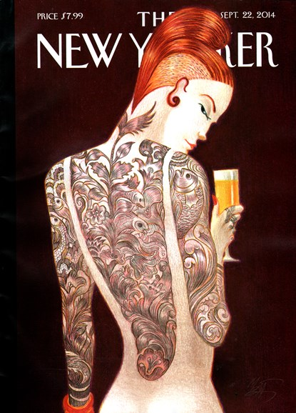 The New Yorker Cover - 9/22/2014