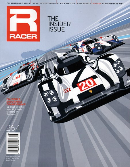 Racer Cover - 9/1/2014
