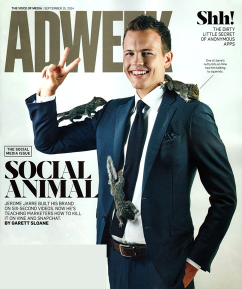 Adweek Cover - 9/15/2014