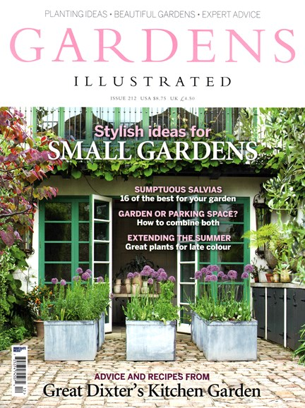 Gardens Illustrated Cover - 8/1/2014