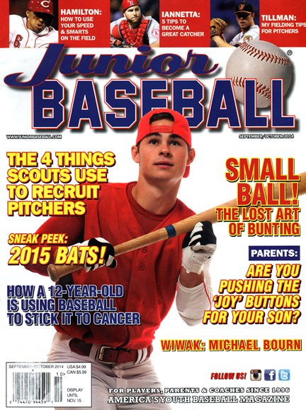 Junior Baseball Cover - 9/1/2014