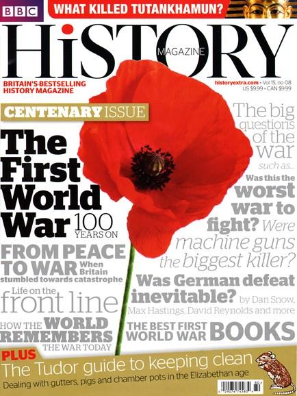 BBC History Cover - 8/1/2014