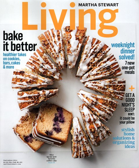 Martha Stewart Living Cover - 9/1/2014