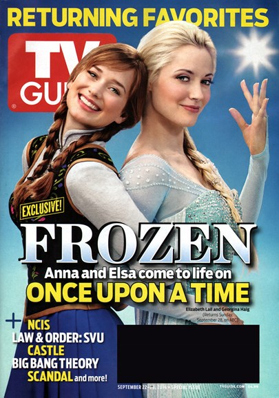 TV Guide Cover - 9/22/2014