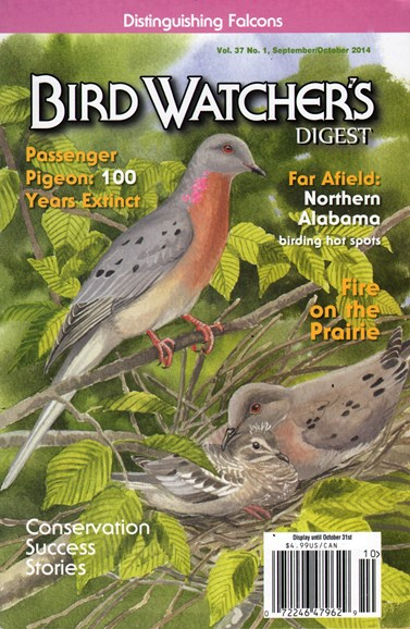Bird Watcher's Digest Cover - 10/1/2014