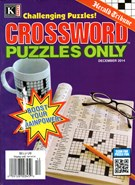 Herald Tribune Crossword Puzzles Magazine 12/1/2014