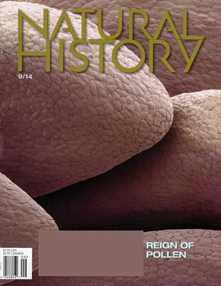 Natural History Cover - 9/1/2014