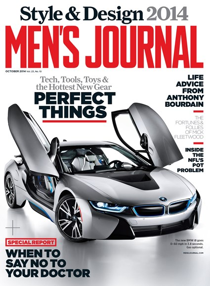 Men's Journal Cover - 10/1/2014