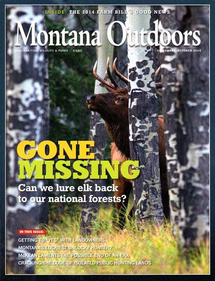 Montana Outdoors Cover - 9/1/2014