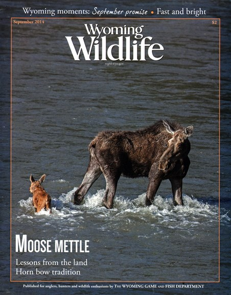 Wyoming Wildlife Cover - 9/1/2014